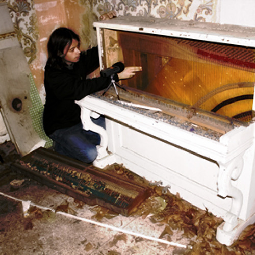 Have you ever recorded an broken piano in a derelict building?