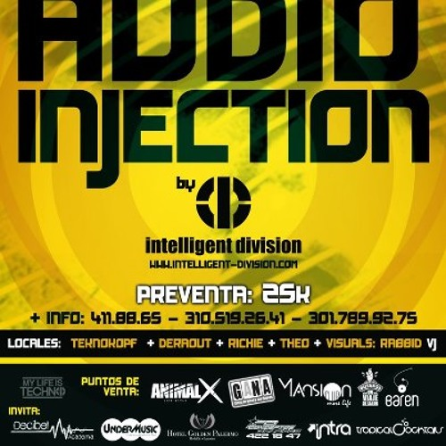 Audio Injection Live at Lobby, Medellin Colombia Sept 2012