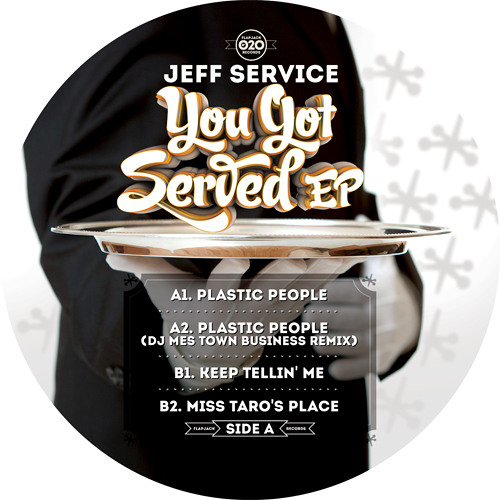 Jeff Service_You Got Served EP_Flapjack Records