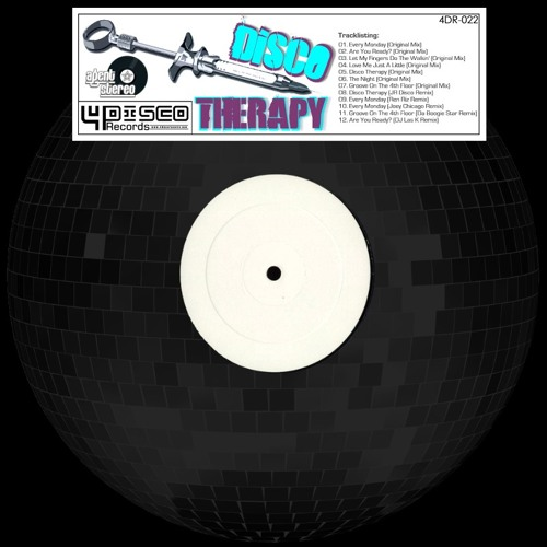 Agent Stereo - Disco Therapy ( JRs  Disco Nights Remix ) released on 4DR