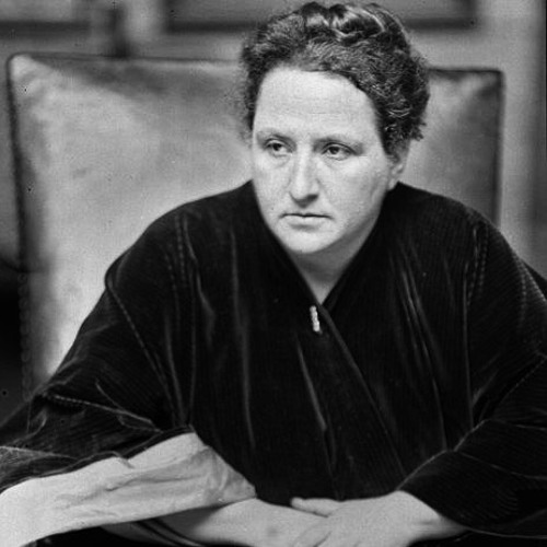 Rare Gertrude Stein Interview, 1934