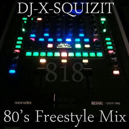 DJ-X-Squizit 80's Old School Freestyle Mix