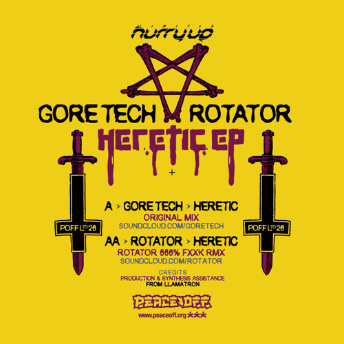 POFF LTD 26 - GORE TECH - Heretic (Rotator 666% Fxxk Remix) PREVIEW - OUT NOW !!!