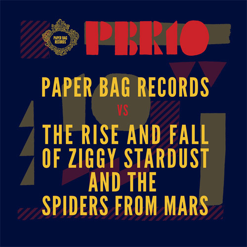 Paper Bag Records x The Rise and Fall of Ziggy Stardust and the Spiders from Mars