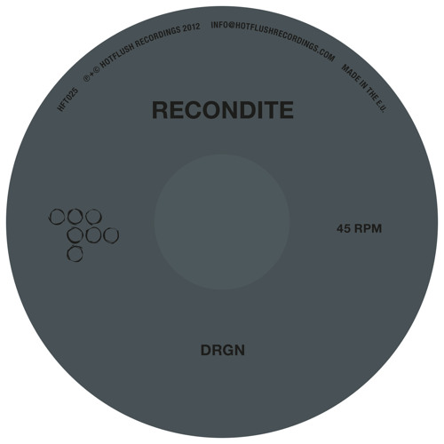 Recondite - DRGN / Wist 365 (HFT025 Preview)