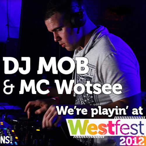 DJ MOB and MC Wotsee from Westfest 2011