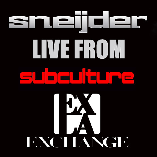 Sneijder Live @ Subculture, The Exchange, Los Angeles