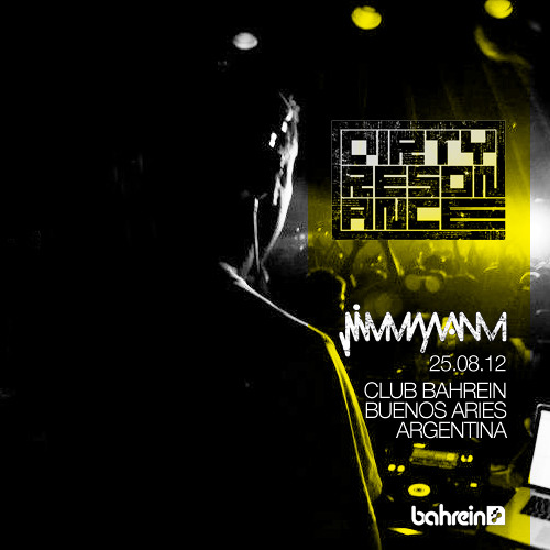 Jimmy Van M - Dirty Resonance @ Bahrein Aug 25 2012