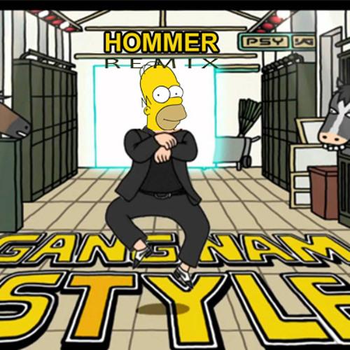 PSY - Gangnam Style (Hommer)