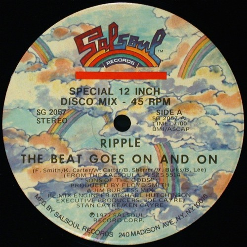 Ripple - The Beat Goes On And On (Disco Gold Edit)