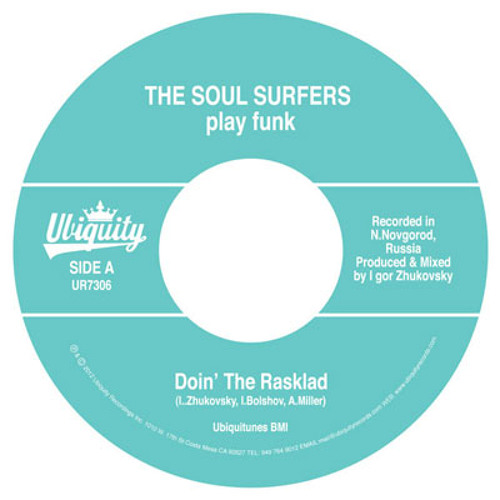 "THE SOUL SURFERS - ""Doin' The Rasklad"""