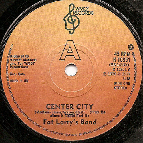Fat Larry's Band - Centre City (Disco Gold Edit)