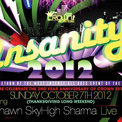Dj Skyhigh ft. Mc Tizzy - Official Insanity 2012 Mixtape