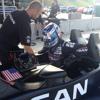 SPANISH: Lucas Ordonez - Road Atlanta Nissan DeltaWing test