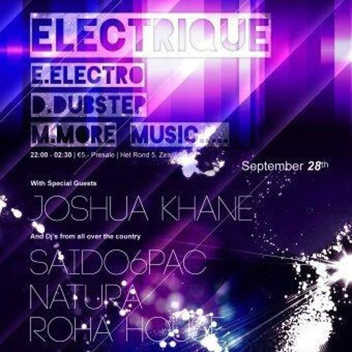 Electrique promo mixtape