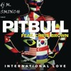 Pitbull - International Love ft. Chris Brown instrumental remix dj sminch