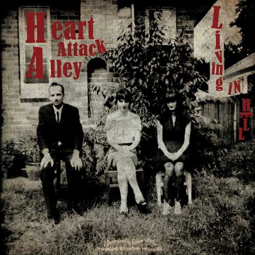 RADIO JINGLE - HEART ATTACK ALLEY - LIVING IN HELL - LP/CD - 2012