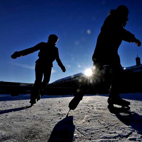 Dance on icy waters - Tanz auf eisigem Wasser