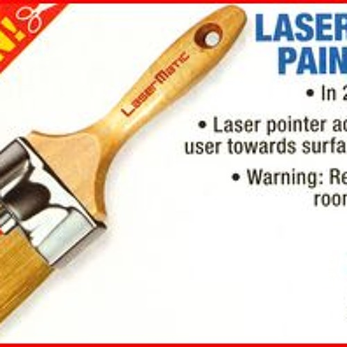 9X4 Laser-Guided Paint Brush