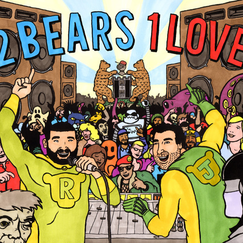 2 Bears 1 Love - 5min Mix Album Sampler
