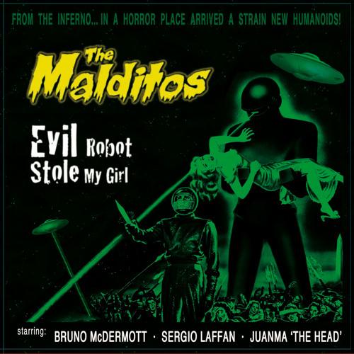 The Malditos: Alien In Love. Grabado en Kingston.