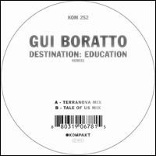 Gui Boratto Destination- Education (Terranova Mix)