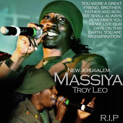 MASSIYA AKA TROY wake in th morning/R.I.P MY LORD