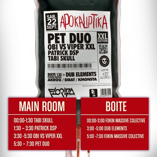 Patrick DSP - Live DJ Set @Florida 135, Spain 22.Sept.2012