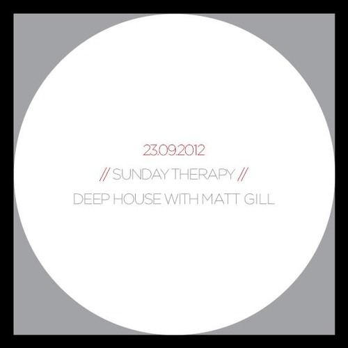 Matt Gill - Sunday Therapy Minimix