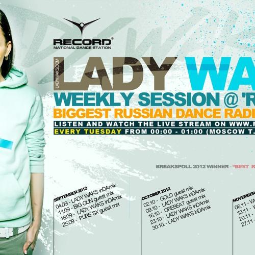 "Martin Flex / PuRe SX - Live DJ Mix for Lady Waks - Radio Record Show, Russia ""FREE DOWNLOAD"""