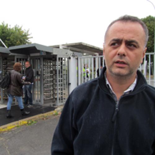 Mehmet Sari, ouvrier PSA depuis 18 ans et habitant des 3000