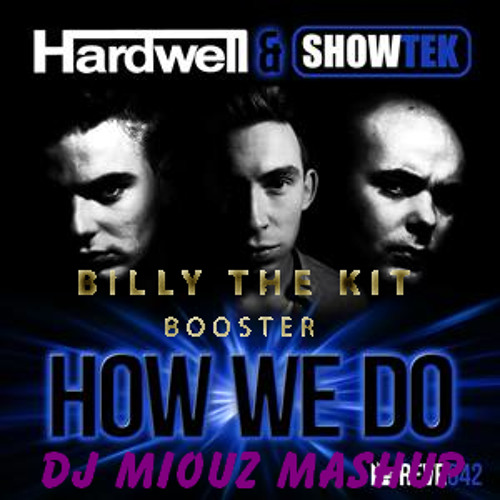 Billy The Kit vs. Hardwell & Showtek - How We Boost (DJ Miouz Mashup)
