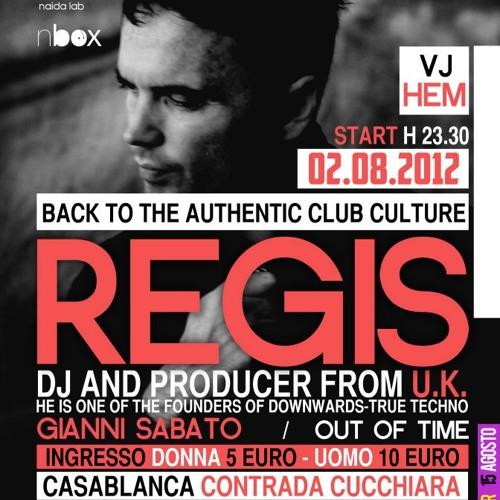 Regis Live @ CRIME FEST 02-08-012