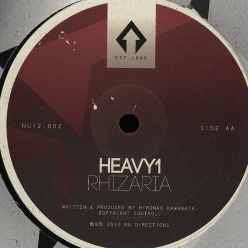 Heavy1 - Rhizaria _ Nu Directions (12' & DIGITAL) Out Now