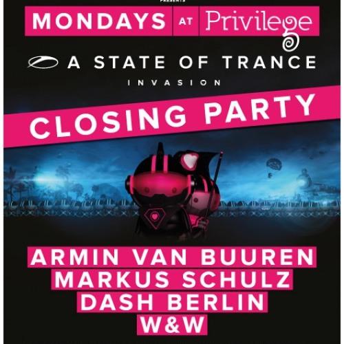 Armin Van Buuren Playing Cielo Sur, Asot Invasion Live From Privilege IBIZA! 24.09