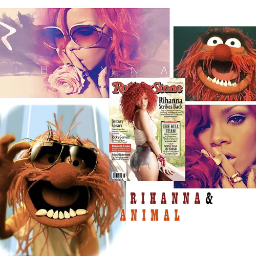 RIHANNA & ANIMAL-DON'T STOP THE MUSIC [DJ Matheos' Club Mix]