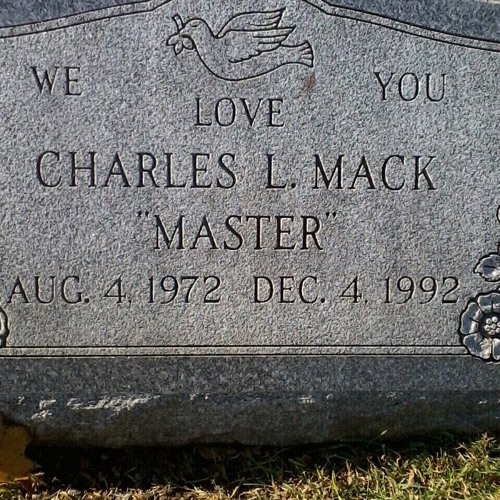 THE CHARLES MAC STORY (written by Ran Reed)
