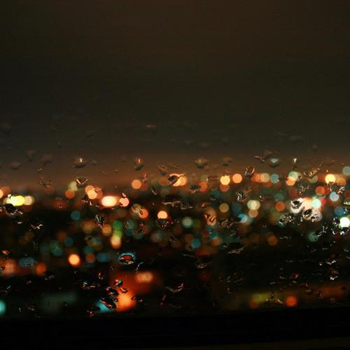 Raindrops - sky sofa