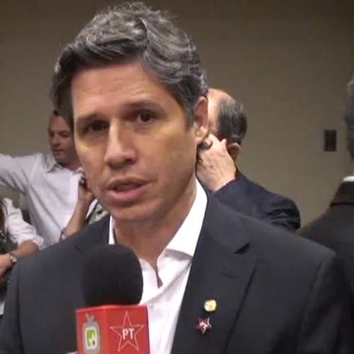 SP São José dos Campos - Deputado Paulo Teixeira apoia para prefeito Carlinhos de Almeida 1 1
