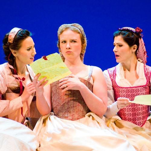 Seattle Opera FALSTAFF Anya Matanovic as Nannetta