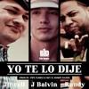 88 BPM J Balvin - Yo te Lo Dije DJ ERMIX OCTUBRE 2012