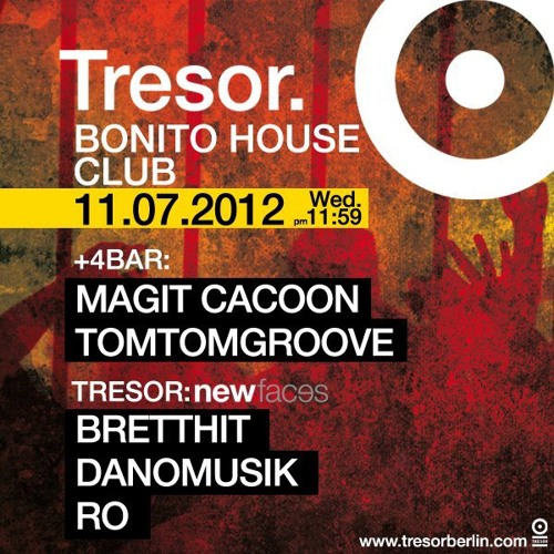 Danomusik @ Tresor Berlin (11.07.2012)