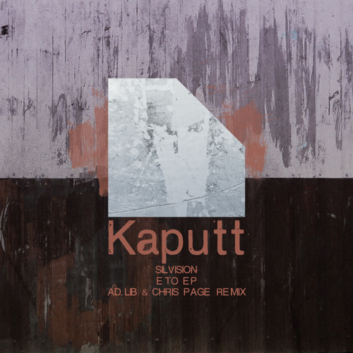 Kaputt014 / Eto EP / Silvision - G7a (Original Mix)
