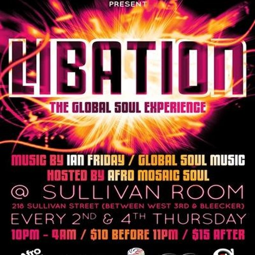 PEREZ MASSIMO LIVE AT LIBATION NYC At THE SULLIVAN ROOM (OPENING SET) 9-27-12