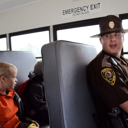 Trooper on the Bus Goes Round & Round