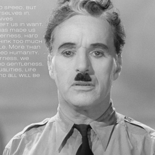 Charlie Chaplin's Speech