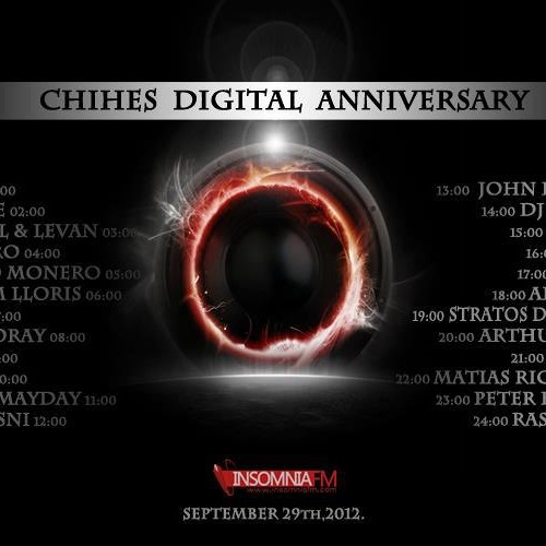 Arthur Sense - Chihes Digital Anniversary [September 2012] on Insomniafm.com