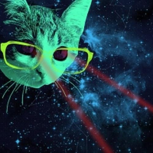 LAZER CAT!!!
