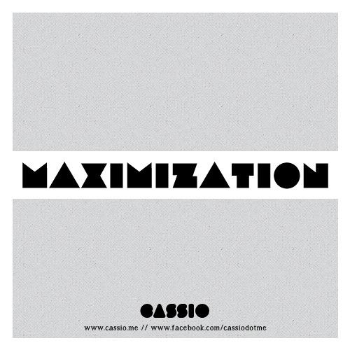 Maximization