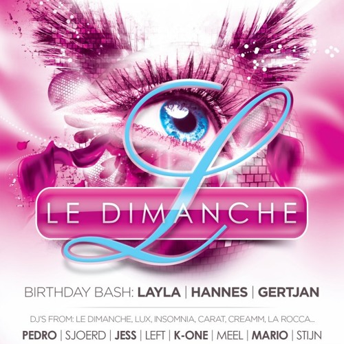 Dj Pedro @ Le Dimanche 29.09.12 ( closing set)